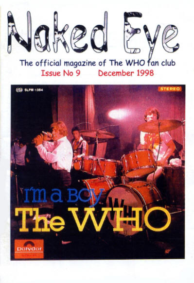 The Who - UK - Naked Eye - December, 1998