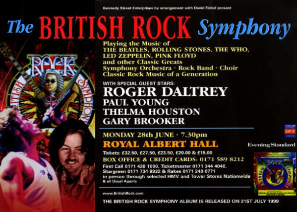 Roger Daltrey - British Rock Symphony - June 28, 1999