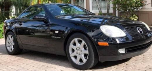 1999 Mercedes-Benz SLK230 Black