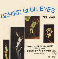 The Who - Behind Blue Eyes/(Non-Who Tracks) - Thailand - 1971 4 Track 45 (EP)