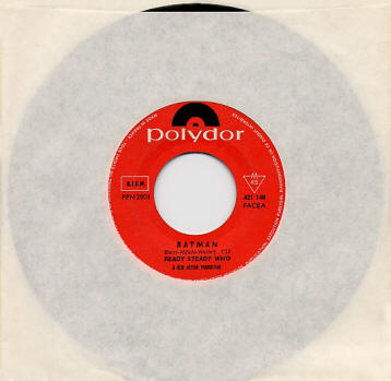 "The Who - Batman/Bucket ""T"" - 1966 France 45 (Promo)"