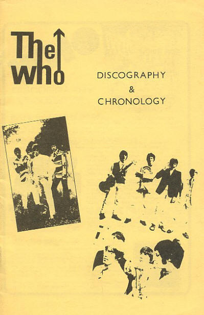 The Who - USA - The Who Discography & Chronology - 1975