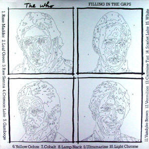 Filling In The Gaps - USA - 1981 Warner Brothers LP