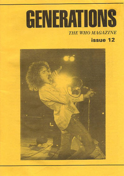The Who - UK - Generations #12 - 1995