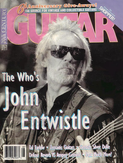 John Entwistle - USA - 20th Century Guitar - August, 1996