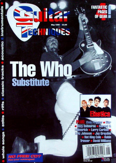 The Who - UK - Guitar Techniques - May, 1995