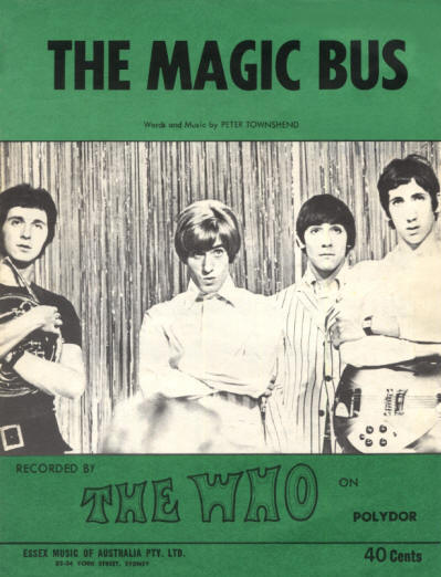 The Who - Australia - Magic Bus - 1968