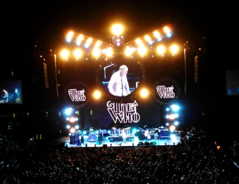 The Who - Prudential Center - 12/06/12