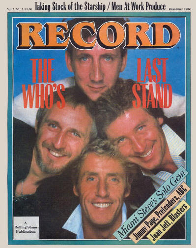 The Who - USA - Record - December, 1982