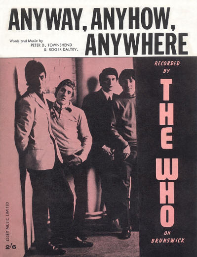 The Who - UK - Anyway, Anyhow, Anywhere - 1965