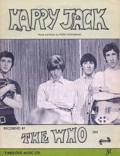 The Who - UK - Happy Jack - 1966