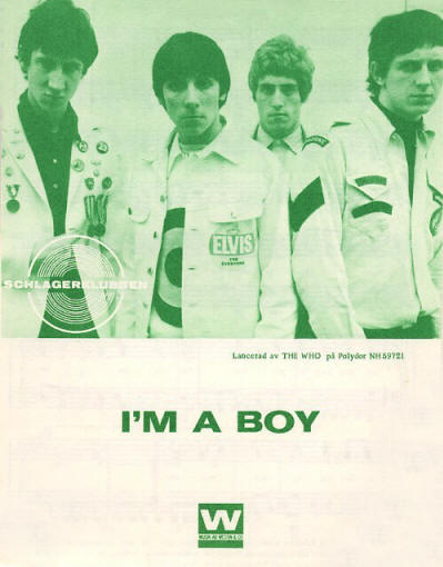 The Who - Sweden - I'm A Boy - 1966