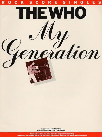 The Who - USA - My Generation - 1994