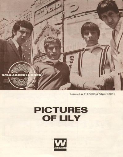 The Who - Sweden - Pictures of Lily - 1967