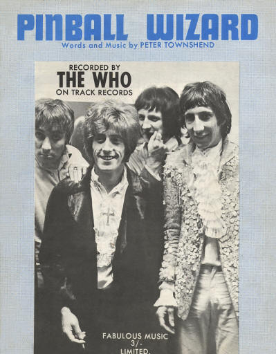 The Who - UK - Pinball Wizard - 1969
