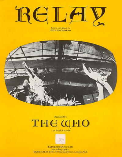 The Who - UK - Relay - 1972