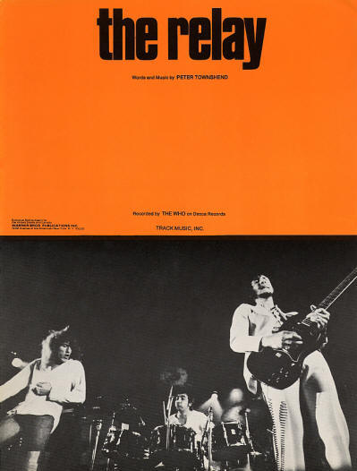 The Who - USA - Relay - 1972