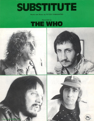 The Who - UK - Substitute - 1976