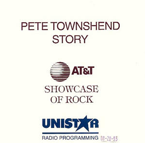 Showcase of Rock - Pete Townshend Story
