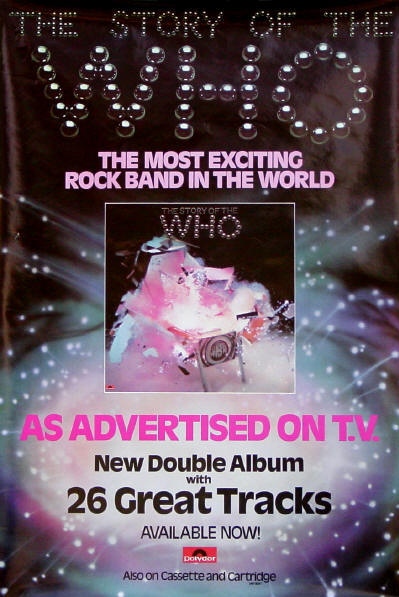 The Who - The Story Of The Who - 1976 UK (Promo)