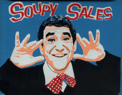 Soupy Sales - 1965 Lunch Box (Front/Back)
