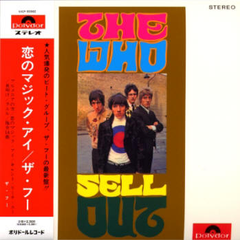 The Who Sell Out - 2007 Japan <Mono> CD