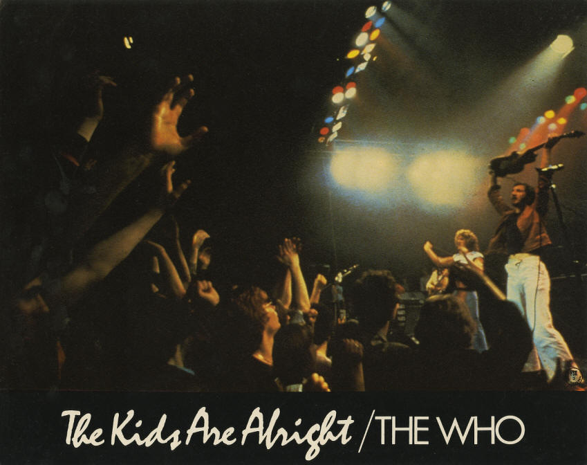 The Who - The Kids Are Alright - 1979 Germany Lobby Cards