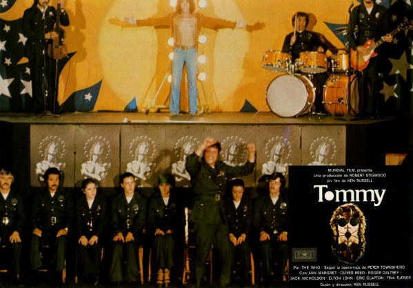 The Who - Tommy Lobby Cards - 1975 Spain