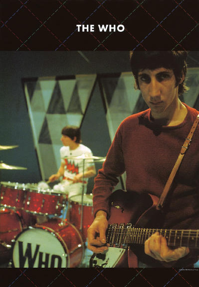 Pete Townshend & Keith Moon - Circa 1966 Japan